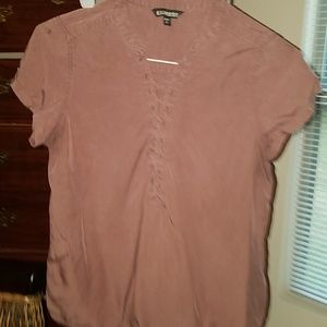 Express utility style blouse